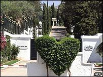 palota bejárata