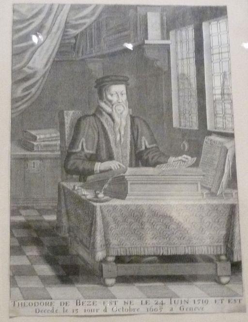 Reformáció múzeuma P1330730 - Theodore Beze
