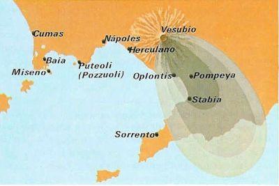 pompeii térkép Nápoly vonzásában – 04. Pompeji a romváros | Fölöttem a felhő