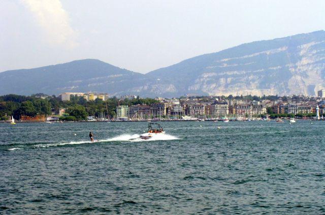 Genfi tó és a Saléve
