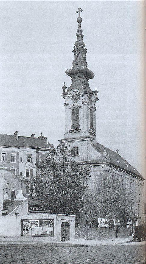 Tabáni szerb templom 1900-as évek- k