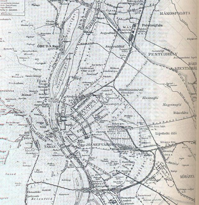 Bp. közlekedési térkép 1912k 0002 aa Bp.törtI-VI