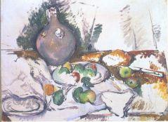 Cézanne- Csendélet vizeskorsóval