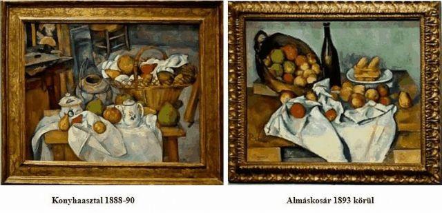 Cézanne csendéletek, 2