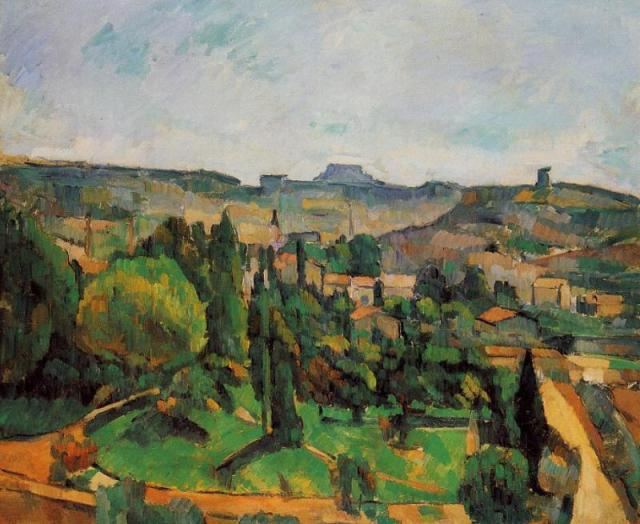 Cèzanne : Kanyarodó út - 1881