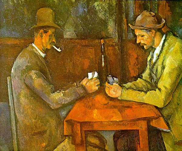 Cézanne- Kártyázók, 1890-92 - Musée d'Orsay