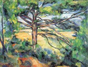 Cézanne: Nagy fenyő 1890-95
