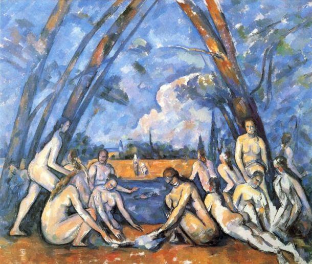 cézanne - the_large_bathers