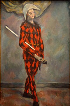 Cezanne_Harlequin 1880-90