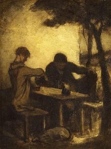 Honoré Daumier Ivók ep54.143.1.R