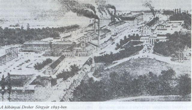Kőbányai Dreher sörgyár 1895