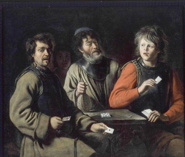 Le-Nain-fivérek-Kártyázók-1635-körül