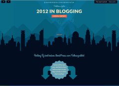 2012 wordpress riport 1