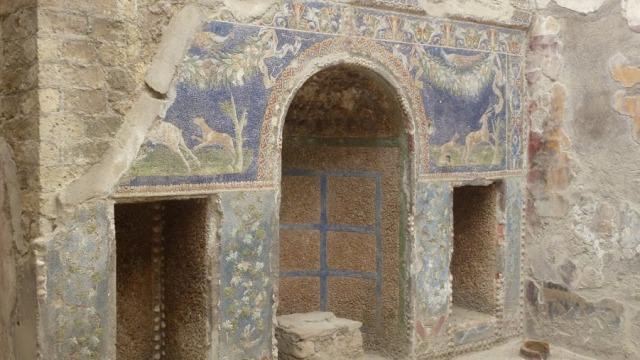Herculaneum Casa di Nettuno e Amfitrite - P1010284 - fotó Heyek Andrea
