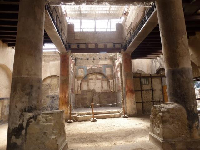 Herculaneum Collegio degli Augustali P1010266 - fotó Heyek Andrea