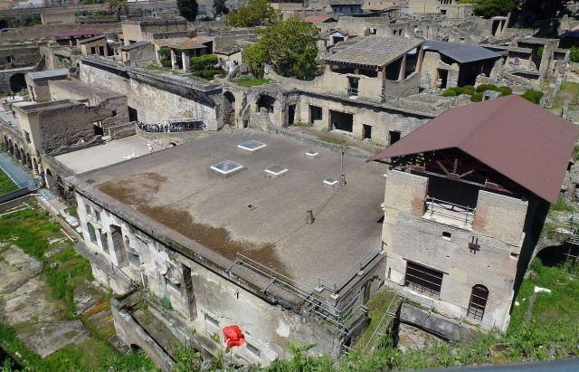 Herculaneum, Külvárosi fürdő -P1010220 AA fotó Heyek Andrea