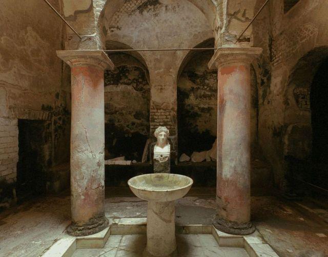 Herculaneum, Terme Suburbane, belépő hall