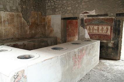 Pompei, Thermopolium of Vetutius Placidus - thermopolium