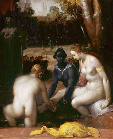 Cornelis_Cornelisz_van_Haarlem_-_Het_toilet_van_Bathseba 1594- Rijskmuseum