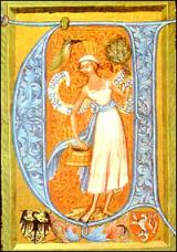 Fürdő iniciálé
