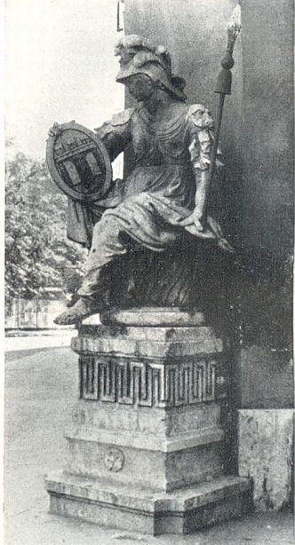 Városvédő Pallas Athene, Carlo Adami 1784