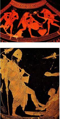 vázafestés, Odüsszeia
