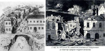 Eső okozta katasztrófa az Ördög - árokban