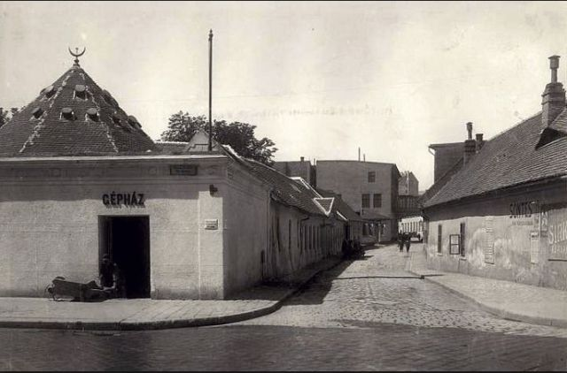 Király fürdő 1900-as évek