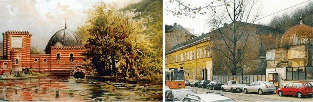 Ray Rezső török fürdője egykor és ma