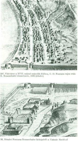 Viziváros és a Császár 1686 Fontana-Nessenthaler
