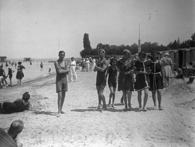 27872 Siófok fövenyfürdő 1915-1920