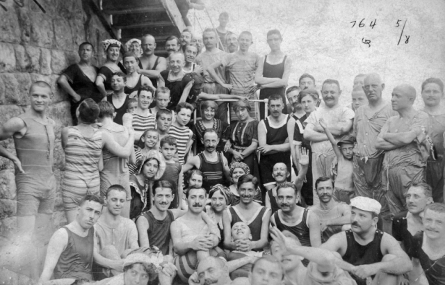Abbázia 1900-1905 Fortepan 9417