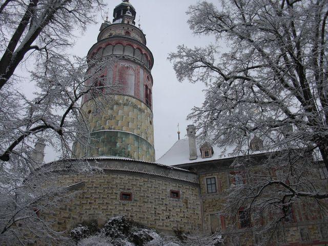 Český Krumlov, a várban CIMG1369
