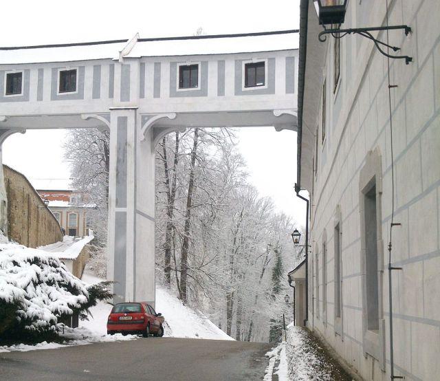 Český Krumlov, a várban DSC_0494