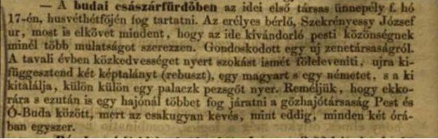Vasárnapi Ujság 1854. ápr. 16.- száma
