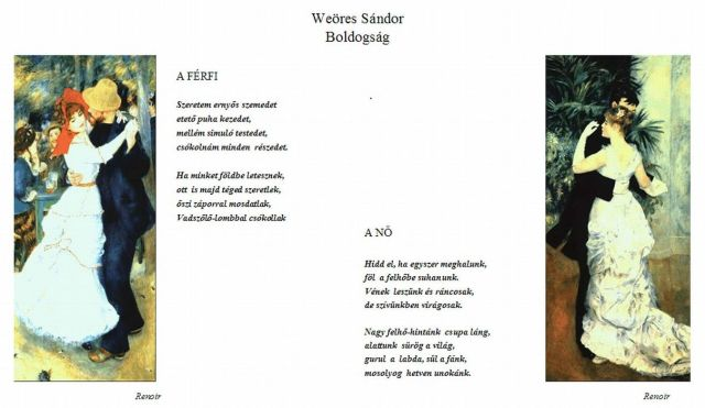 Weöres Sándor - Boldogság