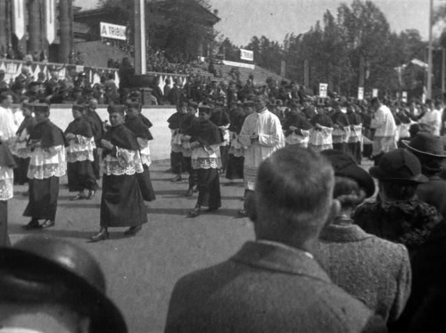 Eucharisztikus Világkongresszus 1938. Fortepan 22208