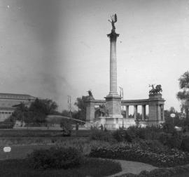 Hősok tere 1914 k. Fortepan 27700