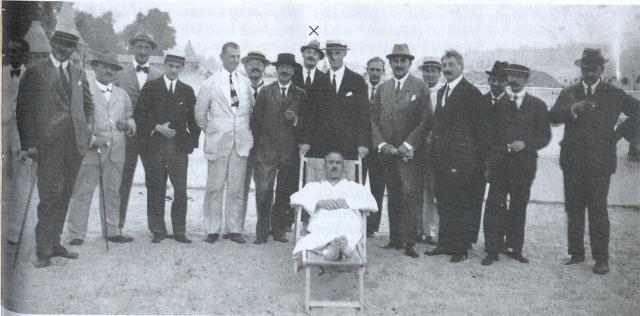 Margitsziget - Krúdy Gyula a margitszigeti strand megnyitásán 1921 augusztus 0001