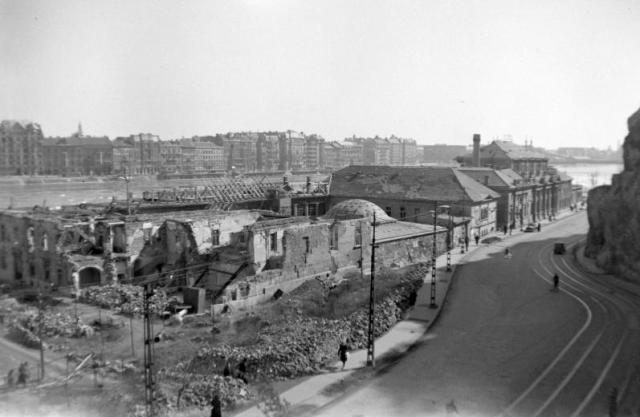 Rudas, 1945 Fortepan 22638