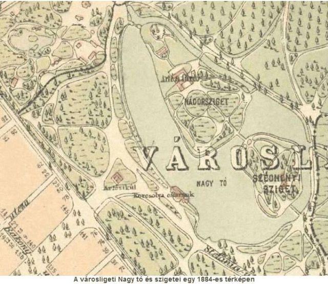 Városligeti Nagy tó