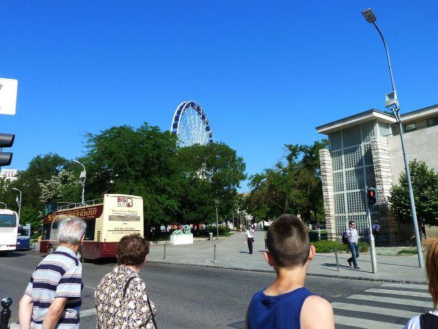 Óriáskerék 2013.05.08. Erzsébet tér P1310376