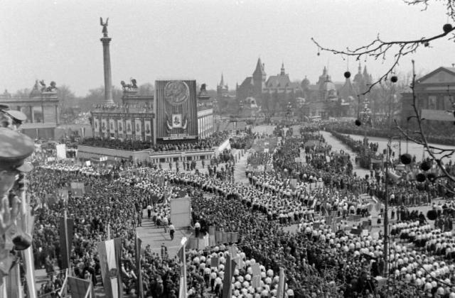 Hősök tere 1953 k 16748