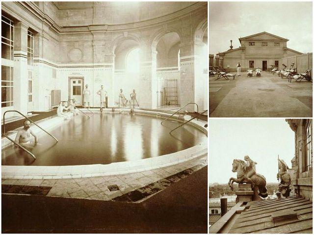Széchenyi Termálfürdő korabeli fotók
