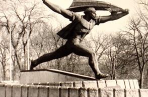 Kiss István - Tanácsköztársaság emlékmű, 1969