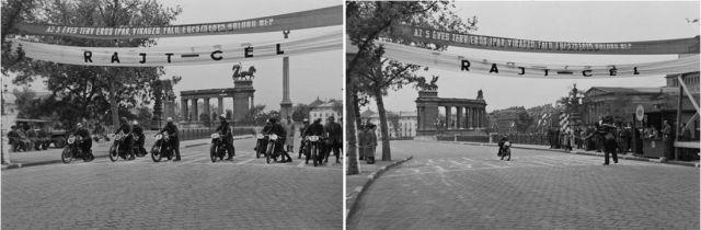 Vasas SC nemzetközi gyorsasági motorverseny 1950 k