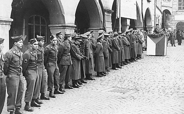 Befreiung von Ck 1945, amerikanische Armee 3182b