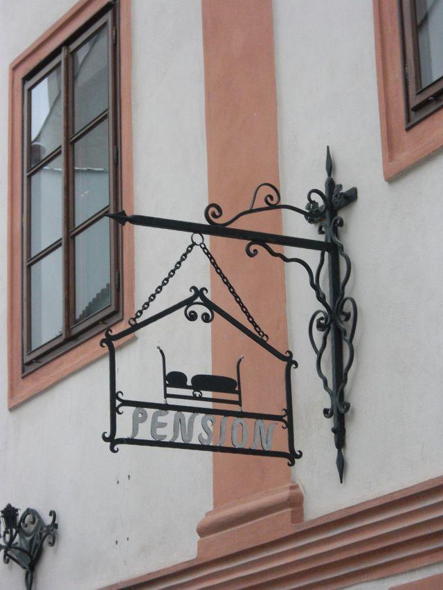 Český Krumlov, a városban CIMG1420 cégér