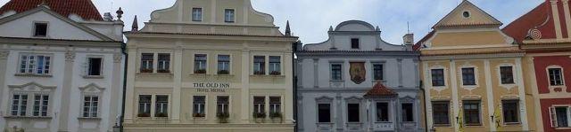 Český Krumlov oromzatok, főtér