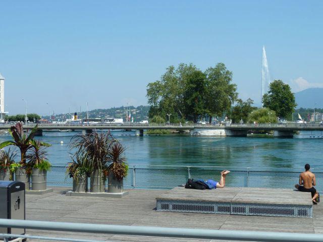Genf, Balpart és a hidak P1340473